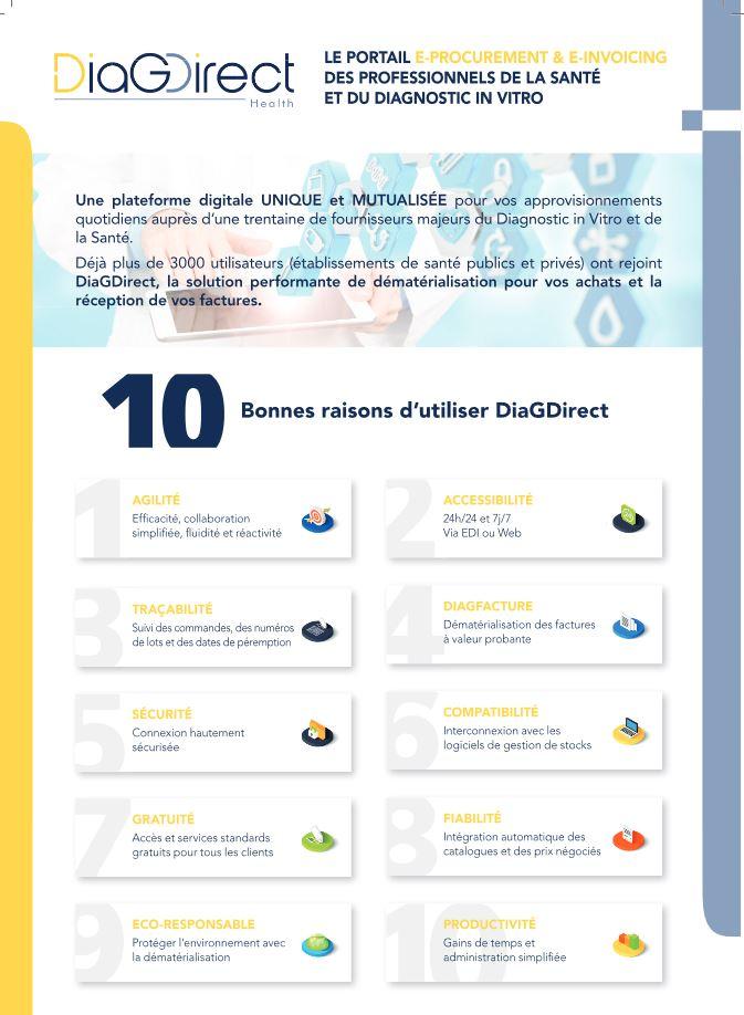 Les avantages de DiagDirect